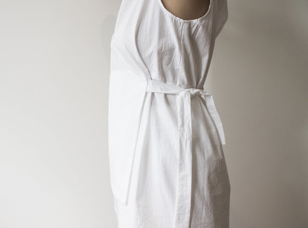 House of 950 Apron Top - White