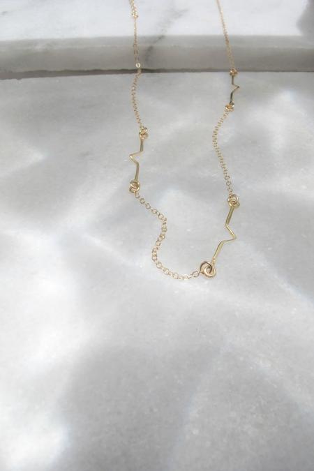 Muns Ola Short Necklace - Gold