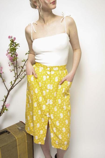 Frnch Skirt - Dandelion Print