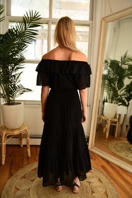 Anaak Jaisalmer Off-shoulder Dress - Black