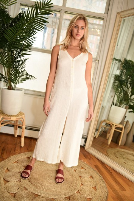 Lacausa Elderflower Jumpsuit - Bone