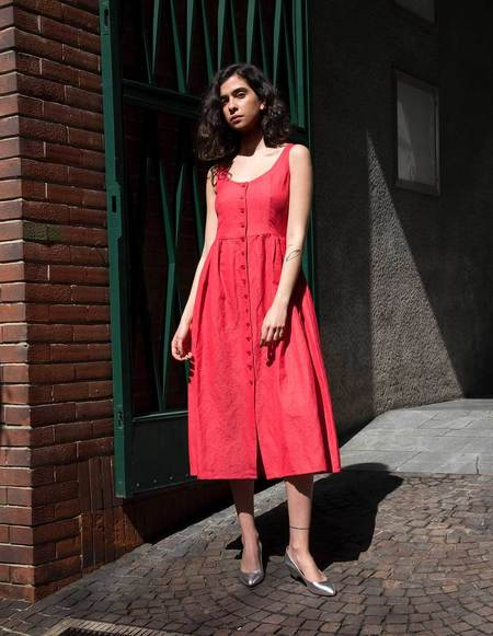 Asciari Milano Thera Rosso Dress
