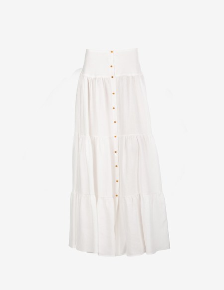 Caftanii Firenze Alice Linen Skirt