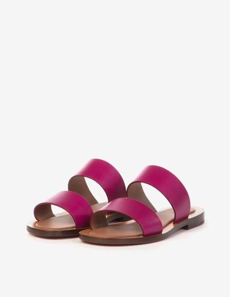 Amblême Ugalde Calfskin Sandals - Bougainville