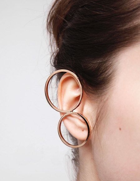 Kim Mee Hye Foyer Ear Cuff - Gold