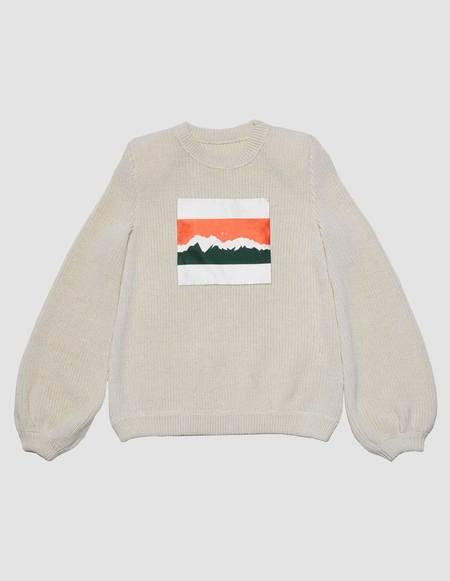 Assel Tau Sweater - Cream