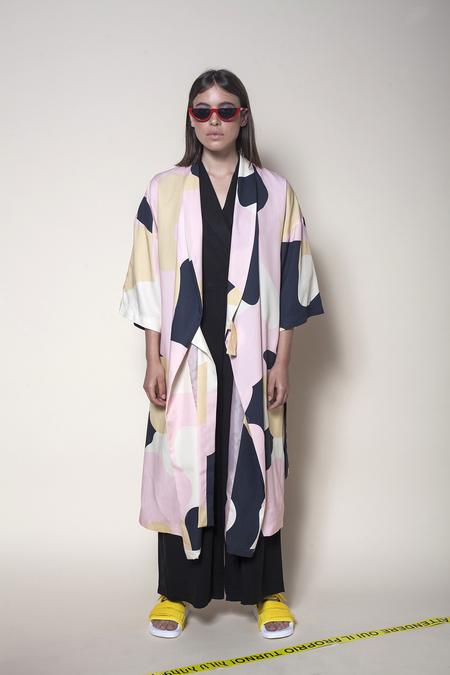 Vender The Printed Kimono