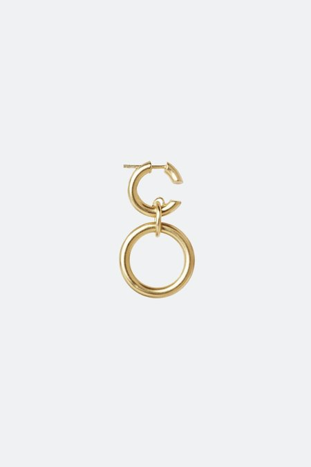 Maria Black Dogma Earring - GOLD