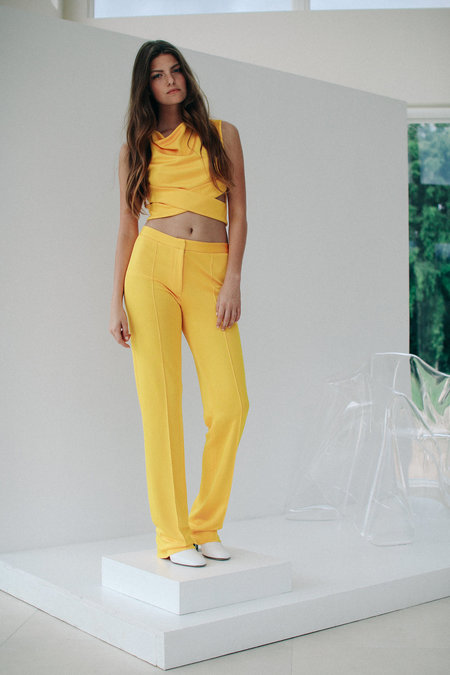 Dama Vari Trousers - Yellow