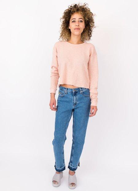 Yoga Jeans Chloe Dual Hem Jean - Blue