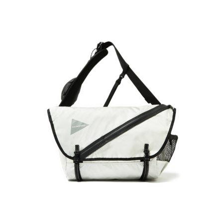 And Wander Messenger Bag - White