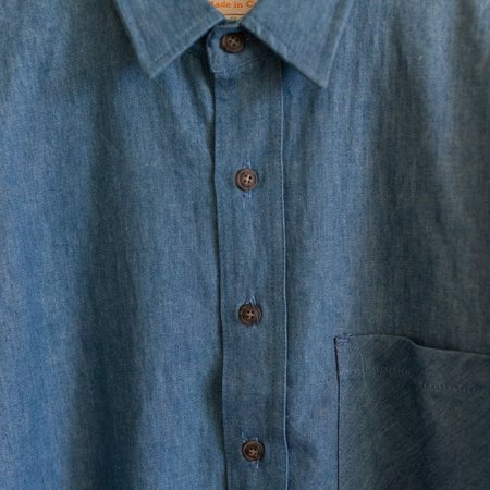 Mollusk One Pocket Shirt - Denim