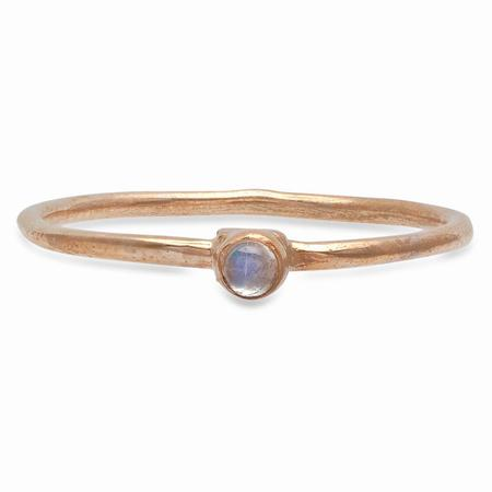 Studio Grun Single Crown Ring - Bronze/Moonstone