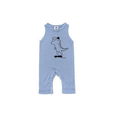 Kids Kira Kids T-Rex Graphic Sleeveless Jumpsuit - Blue