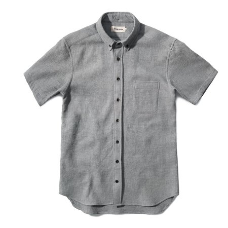 Taylor Stitch The Short Sleeve Jack - Ash Waffle