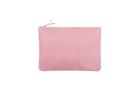 LEATHER CLUTCH - LILAC