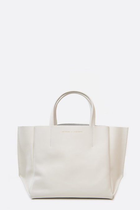 Ampersand as Apostrophe Half Tote Bag - Star White