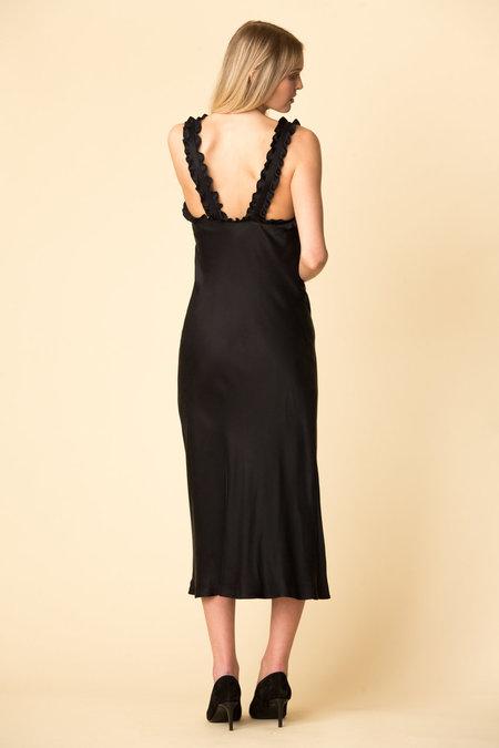 Tibi Cupro Bias Dress