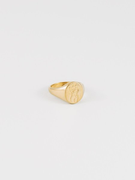 Wolf Circus Femme Ring - Gold