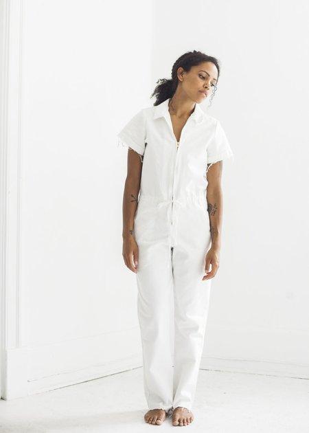 Nahanni Arntzen Menlo Jumpsuit - White Denim