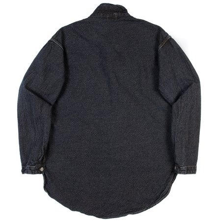 Tender Type 483 Long Sleeve Tesseract Shirt - Rinse Indigo Cross weave denim