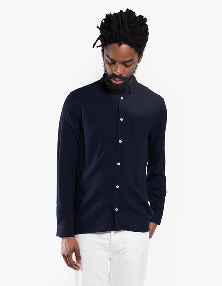 Séfr Hampus Shirt - Navy