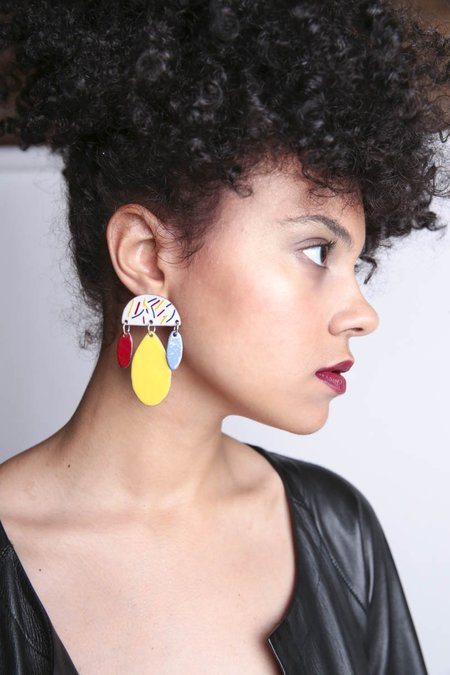 Bianca Barr Confetti Earrings