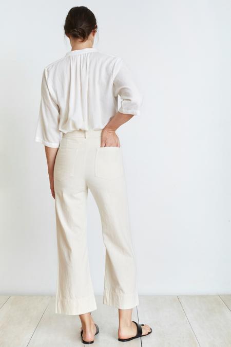 Apiece Apart Merida Pant in Cream
