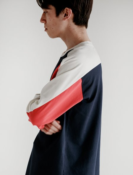 Childs L/S Jump Tee - Red/White/Blue