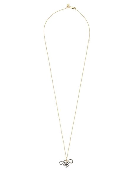 Sydney Evan 14K Diamond Lucky Trio Necklace - GOLD