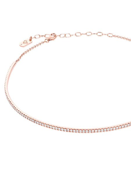 Carbon & Hyde Infinity Choker - ROSE GOLD