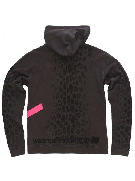 Freecity Leopard Sherpa Zip Hoodie