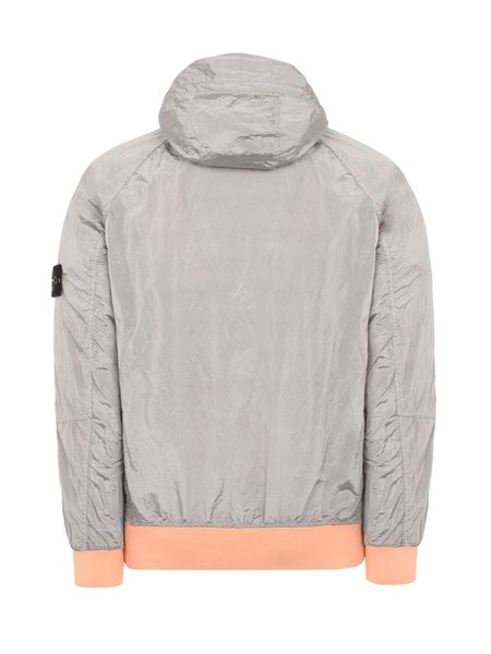 Stone Island Nylon Metal Garment Dyed Jacket - Salmon