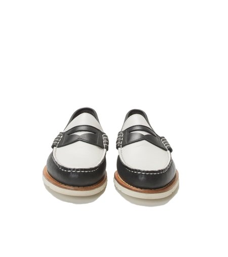 FSC x RANCOURT BEEFROLL PENNY LOAFER - BLACK/WHITE