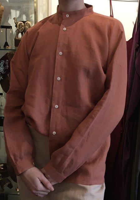 Blluemade Linen Monk Shirt