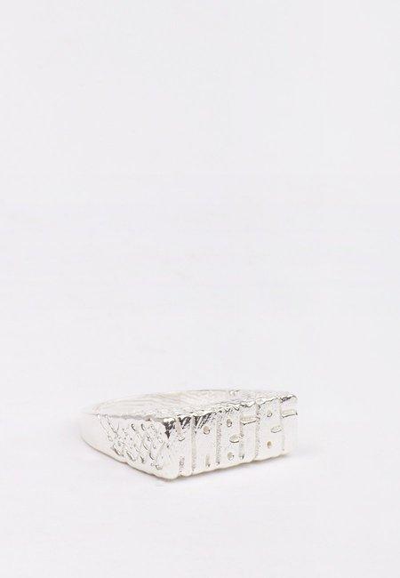27 Mollys Habibi Ring - silver