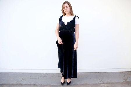 Vivetta Argo Sleeveless Long Dress - Navy
