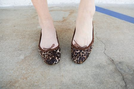 Repetto Cendrillon - Leopard