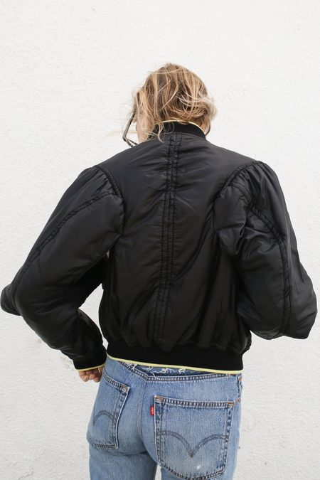 Haider Ackermann Pure Technical Bomber - Zoisite Black