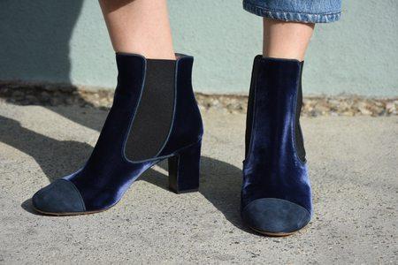 Tabitha Simmons Micki Boot - Midnight Blue