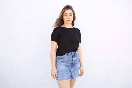 Top Expert Viscose Crewneck Tee - Black