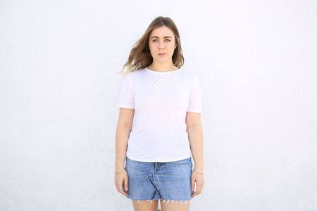 Top Expert Viscose Crewneck Tee - White