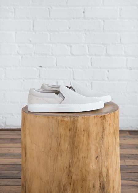 Common Projects Slip On - Suede Grey
