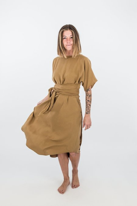 Hackwith Design House Midi Reversible Wrap Dress