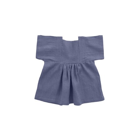 Kids Nobonu Matylda Dress - Ocean Blue