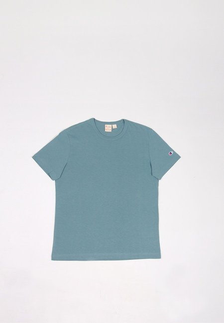Europe Crewneck T-Shirt - dusty steel blue