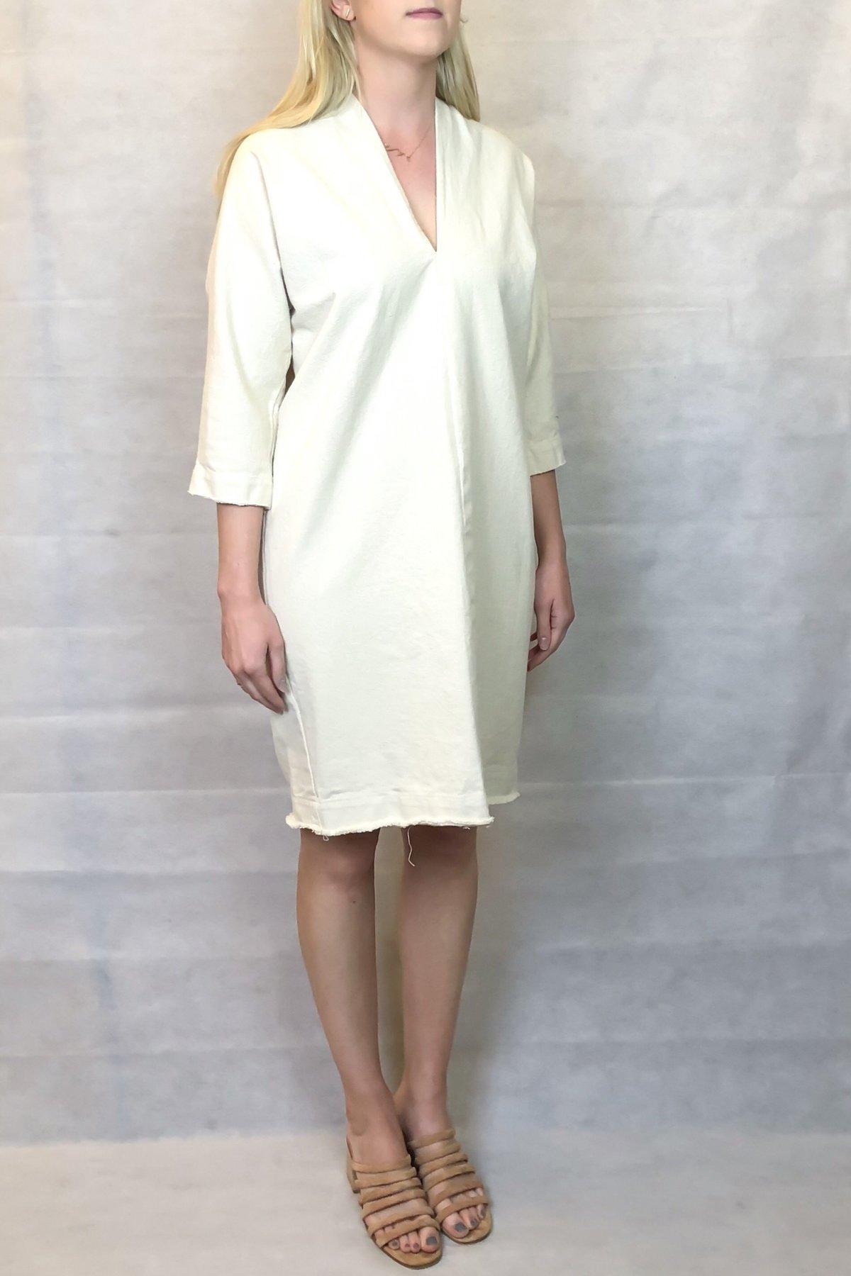 3a4cf2ffc Hackwith Design House Raw Finish Cocoon Dress   Garmentory