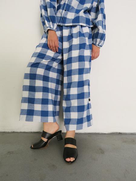MARA HOFFMAN ANGIE PANTS - BLUE/WHITE