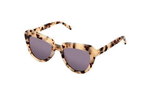 Komono Stella Sunglasses - Ivory Demi