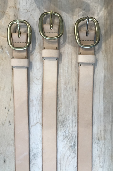 the Standard of Quality belt - Natural